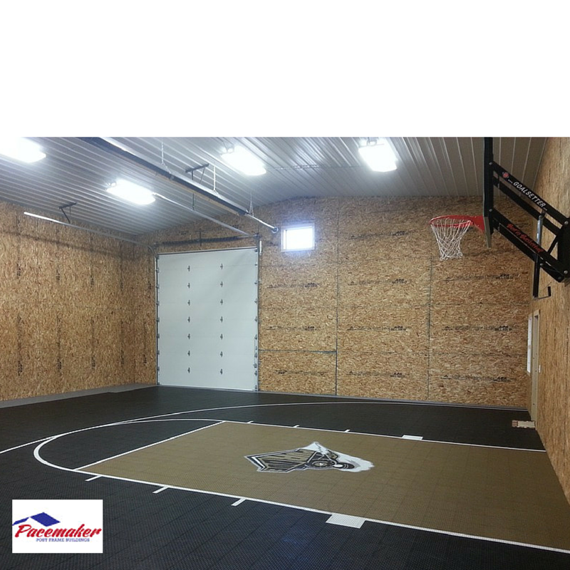 Ideas to consider before building an indoor gym for Indoor basketball court cost