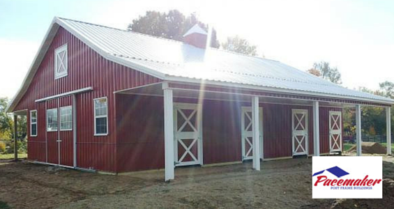 Financing options available for your post frame building for Building a house loan options
