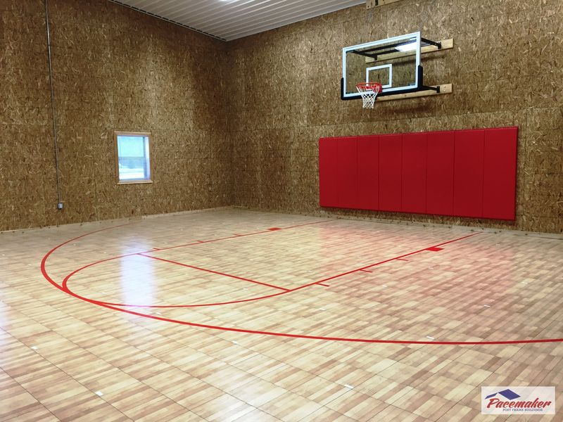 Ideas to consider before building an indoor gym for Build indoor basketball court