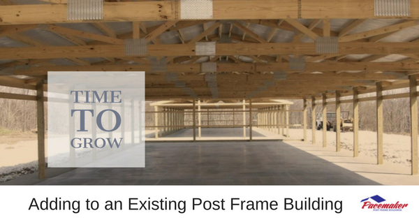 Adding to an Existing Post Frame Building
