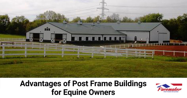 Advantages of Post Frame Buildings for Equine Owners
