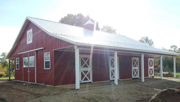 How To Save Money When Building A Pole Barn