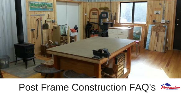 post frame construction faqs
