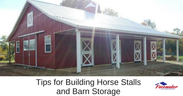 Tips for Building Horse Stalls and Barn Storage-315