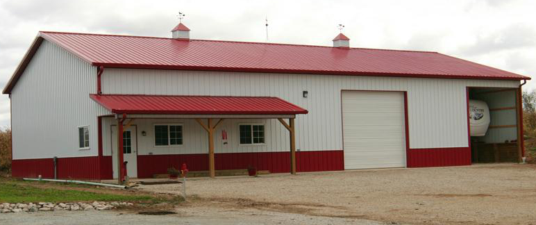 Aesthetics vs functionality for pole buildings for Design your own pole barn online